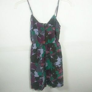 UO Ecote Strappy SILK Dress w/ Pockets SZ S